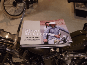 The actor Steve McQueen raced motorcycles throughout his life