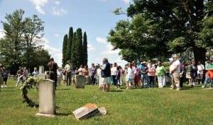 emancipation days cemetery ceremony