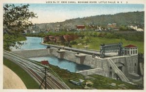 lock 17 postcard