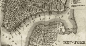 east river map