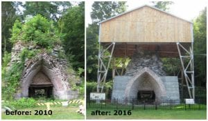 friends-of-taconic-state-parks-efforts-to-save-the-copake-iron-works-have-included-the-stabilization-and-preservation-of-the-iconic-19th-century-blast-furnace