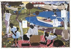 Past Times. 1997.. Kerry James Marshall