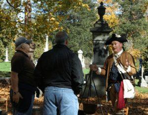 Jeff O'Connor discussing colonial Schoharie history