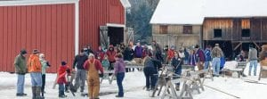 Hanford Mills Museum ice harvest