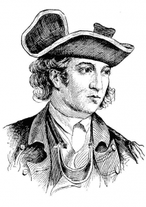 General John Sullivan during the Revolutionary War.