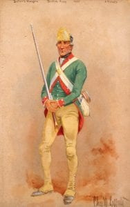 Butlers Rangers in the American Revolution