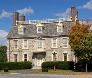 The Hancock House in Ticonderoga