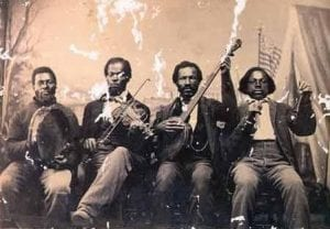 19th century African American Band unknown source