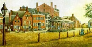 Albany NY in the early 1800s by James Eights