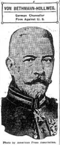 Chancellor Von Bethmann-Hollweg
