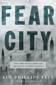 fear city book cover