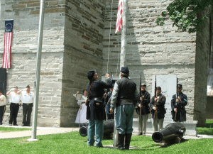 The American Legion, Sons of Union Veterans and 125th NY Volunteer Infantry (re-created)