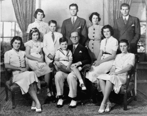 kennedy family 1938
