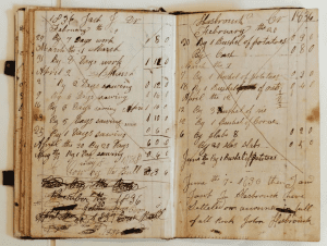 John Hasbrouck Account Book