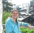 Robi Josephson in the Mohonk Garden