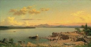 hudson river painting by sanford gifford