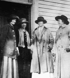 woodstock women voting 1918