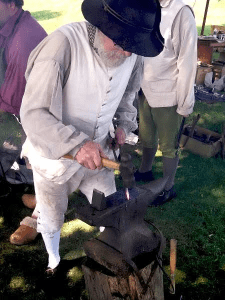 18th Century Living History Blacksmith