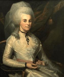 A painting of Elizabeth Schuyler Hamilton
