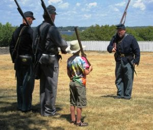 Sackets Harbor Battlefield State Historic Site reenactment