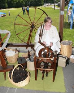 spinning demonstration