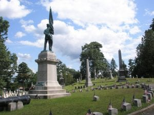 Greenridge Cemetery Civil War Monument