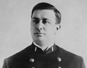 Lt Charles E Becker in his NYPD uniform shortly before his arrest on a murder charge in 1912
