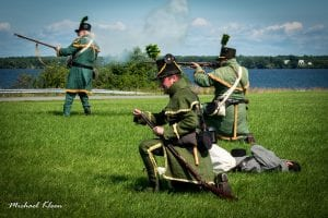 Sackets Harbor War of 1812 Weekend reenactment
