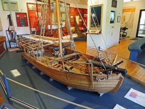 USS Philadelphia Gunboat replica