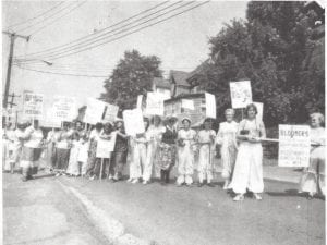 Bloomers for 80s Seneca Falls 1981