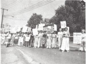 Bloomers for 80s Seneca Falls 1981