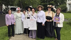 Broome-Tioga Suffrage Anniversary Parade