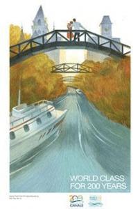 Erie Canal Bicentennial poster
