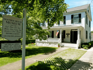 Mather House Museum courtesy Historical Society of Greater Port Jefferson