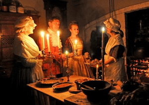 Nighttime in the 18th Century