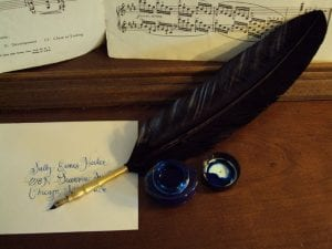 quill pen workshop