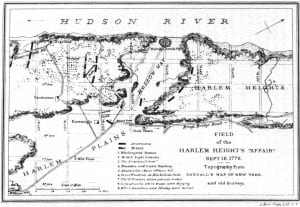 Map of Harlem Heights
