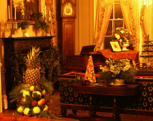Crawford House interior front parlor