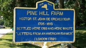 Crevecoeur farm marker
