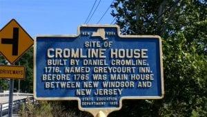 Cromline house marker