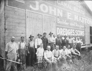 Matton Shipyard workers