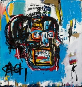 Jean-Michel Basquiat (American, 1960-1988). Untitled, 1982.