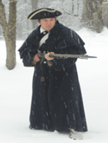 continental army soldier matt thorenz from wallkill
