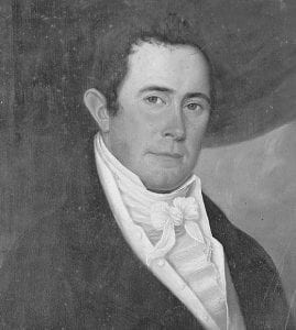 Colonel Jacob Griffin portrait