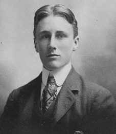 Franklin Roosevelt at age 18