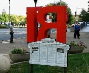 Roosevelt Island IR Sign