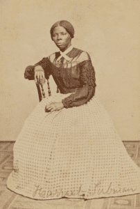 young Harriet Tubman, who served as a spy and scout during the Civil War