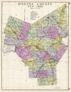 Oneida County NY 1912