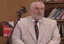 Bernie Margolis at the Boston Public Library in 2003