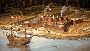 Fort Orange, 1635, L. F. Tantillo